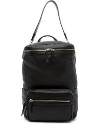 Vince Camuto - Patch Convertible Leather Backpack - Lyst