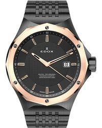 EDOX Watches - Men's Delfin 3-hand Bracelet Watch - Lyst