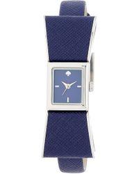 Kate Spade | Women's Kenmare Leather Strap Watch | Lyst