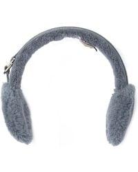 UGG - Classic Genuine Sheepskin & Suede Earmuffs - Lyst