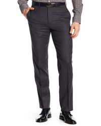 Brooks Brothers - Classic Fit Wool Trousers - Lyst