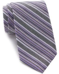 CALVIN KLEIN 205W39NYC - Denim Multi-stripe Tie - Lyst