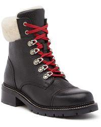 Frye - Samantha Shearling Hiking Boot - Lyst