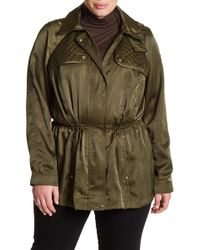Vince Camuto - Hooded Anorak (plus Size) - Lyst