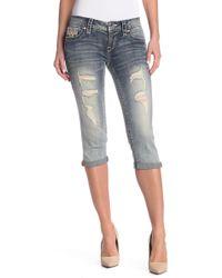 Rock Revival - Vivian Slim Fit Crop Jeans - Lyst
