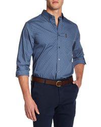 Ben Sherman - Polka Dot Regular Fit Shirt - Lyst