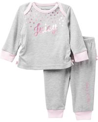 Juicy Couture - Hearts Top & Ruffle Bottom Pants Set (baby Girls) - Lyst