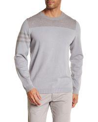 Adidas Originals | Stripe Sleeve Knit Crew Neck Jumper | Lyst