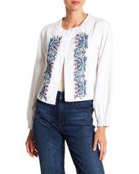 Nanette Nanette Lepore - Embroidered Jacket - Lyst