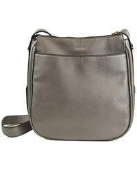 Perlina Krista Leather Crossbody Bag