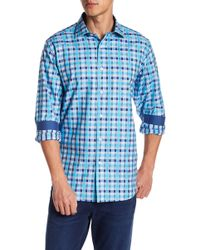 Bugatchi - Plaid Classic Fit Woven Shirt - Lyst