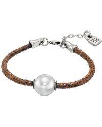 Uno De 50 - Moons Of Jupiter Simulated Pearl Bracelet - Lyst