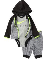 Nike - Sport Essential 3-piece Gift Set (baby Boys) - Lyst