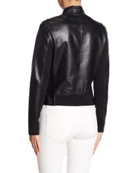 Lamarque - Chapin Leather Jacket - Lyst