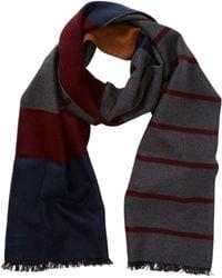 Tommy Bahama - Novelty Block Stripe Silk Wrap Scarf - Lyst