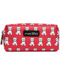 Marc Tetro - Small Red Westie Cosmetic Bag - Lyst