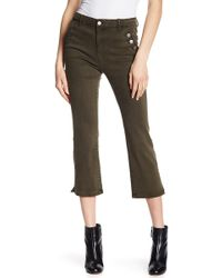 Tractr | Cropped Flare Jeans | Lyst