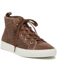 1.STATE - Dulcia Perforated High-top Sneaker (women) - Lyst