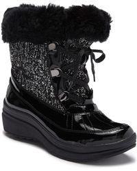 Anne Klein - Gayla Faux Fur Lined Boot - Lyst