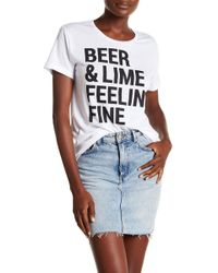 Chaser - Everybody Graphic Print Tee - Lyst