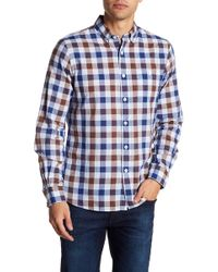 Todd Snyder - Button-down Long Sleeve Ceck Shirt - Lyst