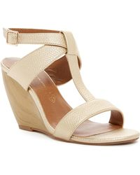 BC Footwear - Thrilled Wedge Sandal - Lyst