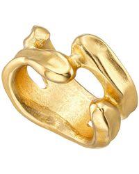 Uno De 50 - Open Space Irregular Band Ring - Lyst