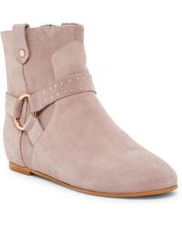 Ted Baker - Sonoar Studded Ankle Boot - Lyst