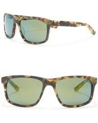 782a643f45 Nike Cruiser Evo835 003 Black Gradient Rectangle Sunglasses in Blue ...