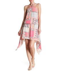 Analili - Halter Print Dress - Lyst