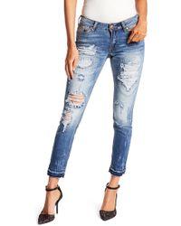 Affliction - Raquel Rising Iceland Skinny Jeans - Lyst