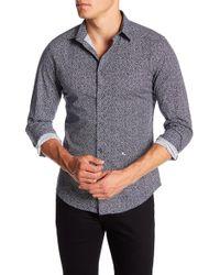 DIESEL   Triangle Print Slim Fit Shirt   Lyst