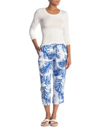 Tommy Bahama - Fuller Fronds Easy Crop Pants - Lyst