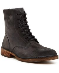 DIESEL - Dopper D-pit Leather Boot - Lyst