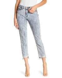 Genetic Denim - Birkin Raw Hem Skinny Jeans - Lyst