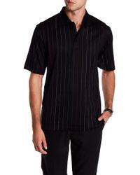 Bugatchi - Stitched Stripe Mercerized Polo Shirt - Lyst