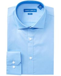 Vince Camuto - Solid Slim Fit Dress Shirt - Lyst