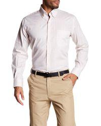Peter Millar - Patterned Button-down Long Sleeve Shirt - Lyst