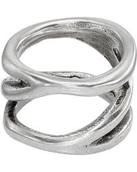 Uno De 50 - Endless Open Band Ring - Lyst