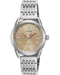 Citizen - Women's Analog Quartz Bracelet Watch, 34mm - Lyst
