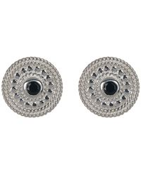 Anna Beck - Sterling Silver Black Onyx Stud Earrings - Lyst