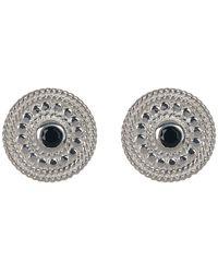 Anna Beck - Sterling Silver Black Onyx Stud Earrings - Lyst