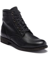 Frye - Tyler Leather Lace-up Mid-calf Boot - Lyst