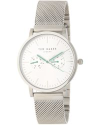 Ted Baker - Men's Mesh Strap Bracelet Watch, 40mm - Lyst
