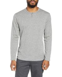 Calibrate - Snap Henley - Lyst