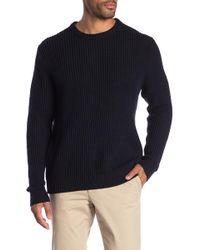 Joe Fresh - Waffle Knit Crew Neck Sweater - Lyst