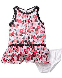Kate Spade - Blooming Floral Dress & Bloomers Set (baby Girls) - Lyst