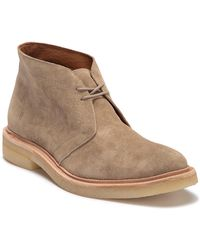Frye - Chris Crepe Suede Chukka Boot - Lyst