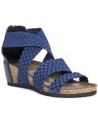 Muk Luks - Elle Wedge Sandal - Lyst