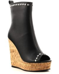 Cape Robbin - Mabel Espadrille Wedge Boot - Lyst